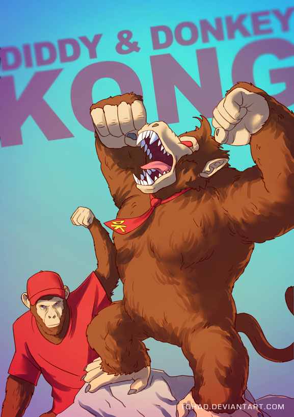 donkeykong_by_tohad-d7ig5ot