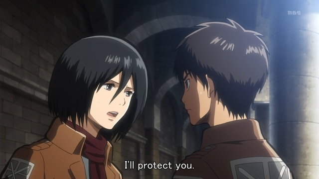 Mikasa protect you